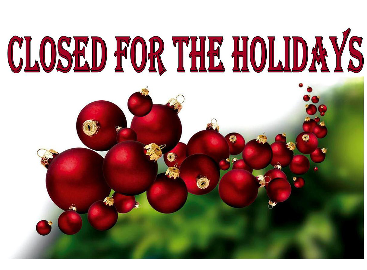 closed for christmas holiday wayne public library
